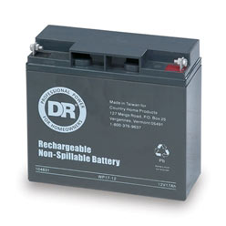 Batteries, Parts, and Maintenance