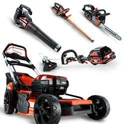 Battery Mowers & Tools